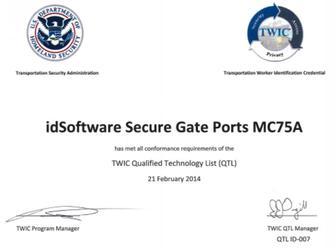 Tsa Certified Biometric Identification System Idsoftware